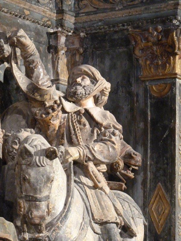 Retable Hattonchatel Crucifixion