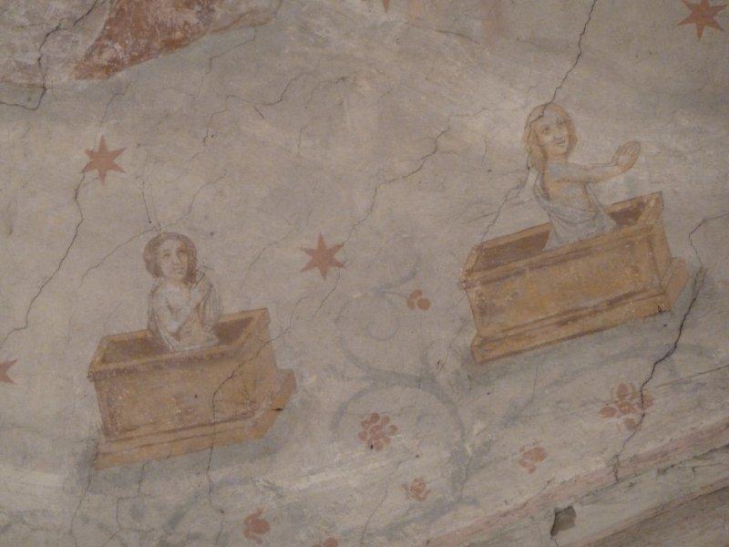 Peintures église St Clément
