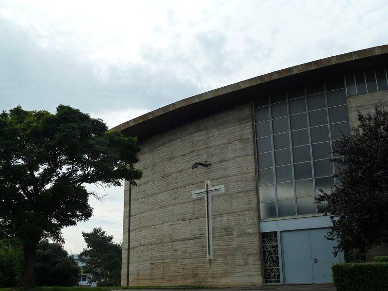Eglise St François d'Assise, Vandoeuvre